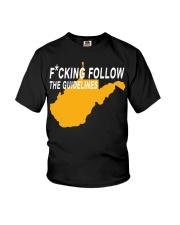 Fucking follow the guideline shirt Youth T-Shirt thumbnail