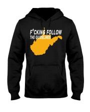 Fucking follow the guideline shirt Hooded Sweatshirt thumbnail