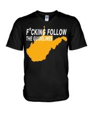 Fucking follow the guideline shirt V-Neck T-Shirt thumbnail