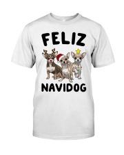 Feliz Navidog Chihuahua Christmas Classic T-Shirt thumbnail