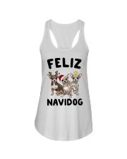 Feliz Navidog Chihuahua Christmas Ladies Flowy Tank thumbnail