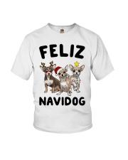 Feliz Navidog Chihuahua Christmas Youth T-Shirt thumbnail