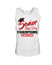 Senior skip day champions class of 2020 red shirt Unisex Tank thumbnail