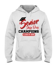 Senior skip day champions class of 2020 red shirt Hooded Sweatshirt tile