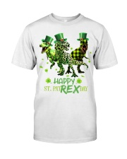 Happy St Patrex Day shirt Classic T-Shirt front