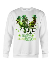 Happy St Patrex Day shirt Crewneck Sweatshirt thumbnail
