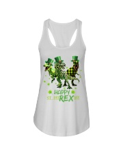 Happy St Patrex Day shirt Ladies Flowy Tank thumbnail