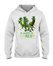 Happy St Patrex Day shirt Hooded Sweatshirt thumbnail