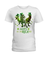 Happy St Patrex Day shirt Ladies T-Shirt thumbnail