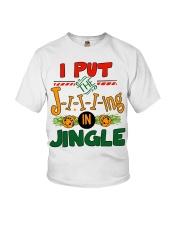 I put the Jing in Jingle Christmas shirt Youth T-Shirt thumbnail