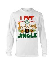 I put the Jing in Jingle Christmas shirt Long Sleeve Tee thumbnail