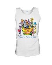Crayon Autism Awareness It's ok to be different  Unisex Tank thumbnail