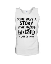 Some have a story we made history class of 2020  Unisex Tank thumbnail