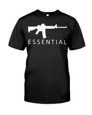 Essential Gun shirt Classic T-Shirt front