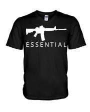 Essential Gun shirt V-Neck T-Shirt thumbnail