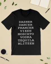 Dasher Dancer Prancer Vixen Moscato Vodka shirt Classic T-Shirt lifestyle-mens-crewneck-front-19
