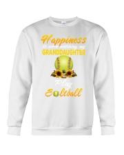 Happiness is when watching my granddaughter play  Crewneck Sweatshirt thumbnail