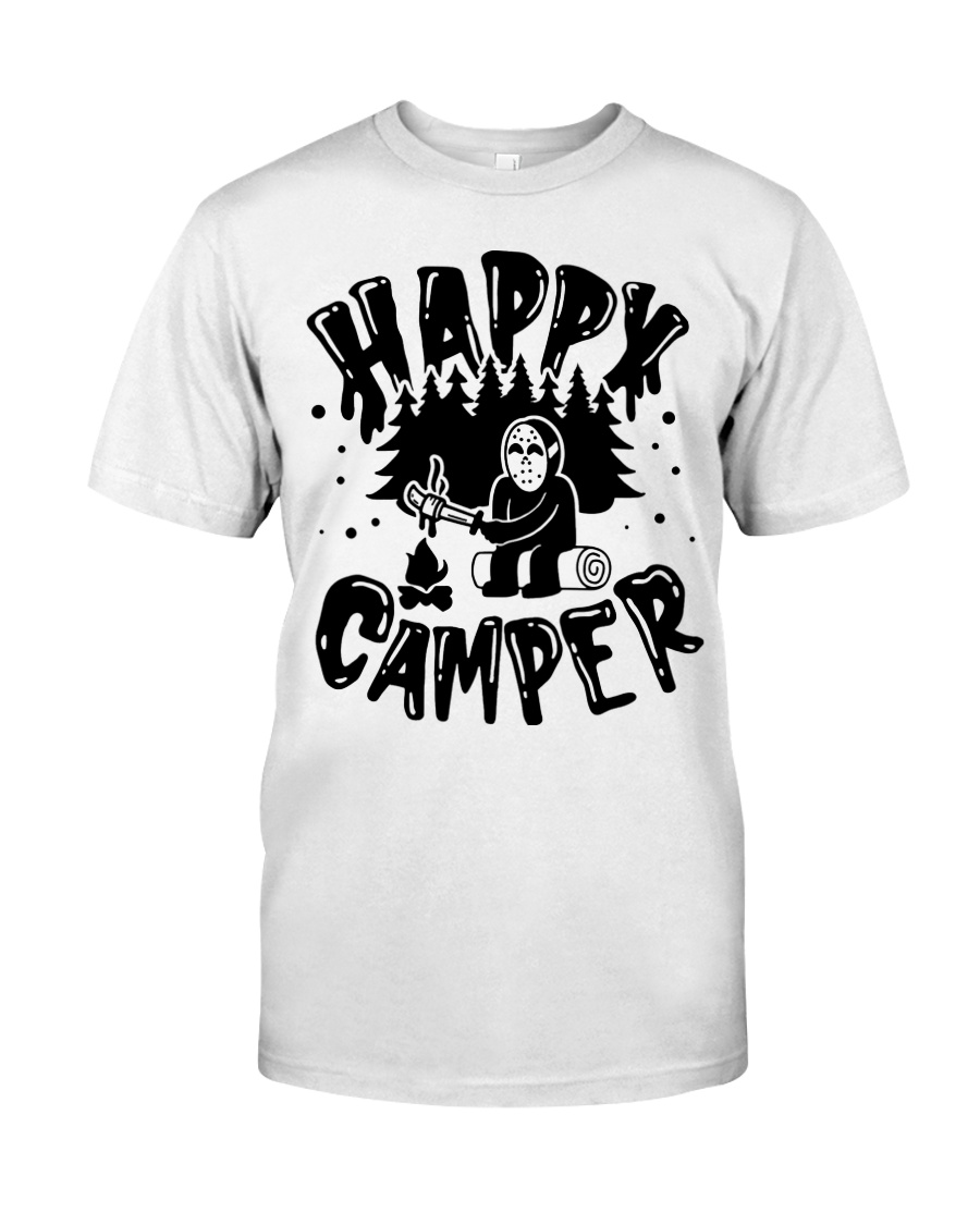 Happy Camper Jason Voorhees Halloween shirt Classic T-Shirt