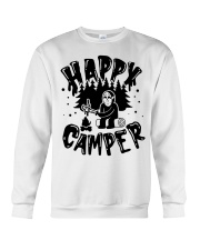 Happy Camper Jason Voorhees Halloween shirt Crewneck Sweatshirt tile