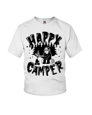 Happy Camper Jason Voorhees Halloween shirt Youth T-Shirt tile