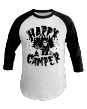 Happy Camper Jason Voorhees Halloween shirt Baseball Tee tile