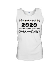 Sophomores 2020 The one where I was Quarantined  Unisex Tank thumbnail