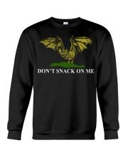 Bat don't snack on me t-shirt Crewneck Sweatshirt thumbnail