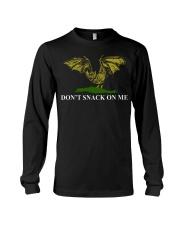 Bat don't snack on me t-shirt Long Sleeve Tee thumbnail