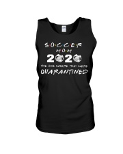 Soccer Mom 2020 The one where they were Quarantin Unisex Tank thumbnail