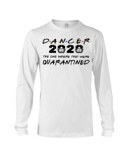 Dancer 2020 The one where they were Quarantined  Long Sleeve Tee tile