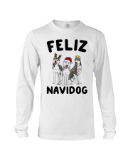 Feliz Navidog Husky Christmas Long Sleeve Tee tile