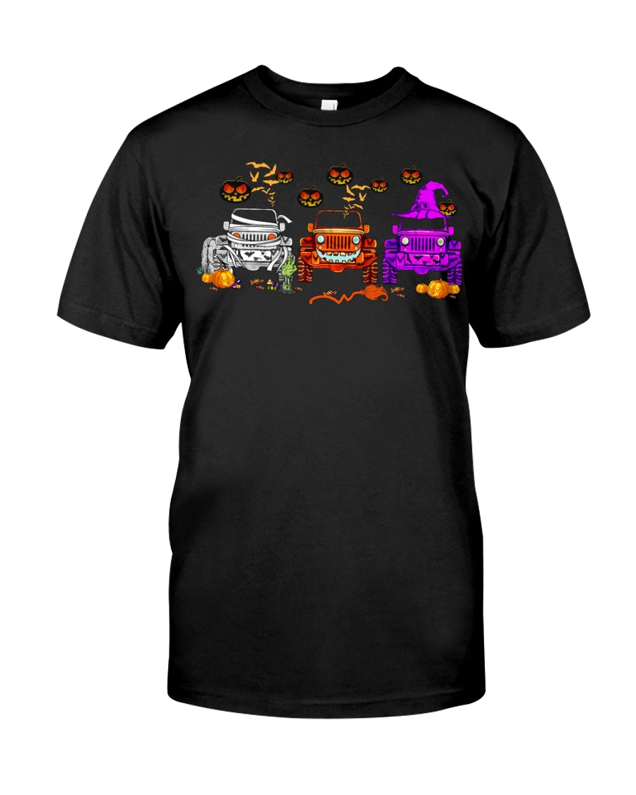 Love Jeeps Halloween Pumpkin Halloween shirt Classic T-Shirt