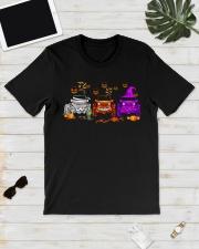 Love Jeeps Halloween Pumpkin Halloween shirt Classic T-Shirt lifestyle-mens-crewneck-front-17