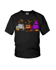Love Jeeps Halloween Pumpkin Halloween shirt Youth T-Shirt thumbnail
