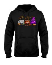 Love Jeeps Halloween Pumpkin Halloween shirt Hooded Sweatshirt thumbnail