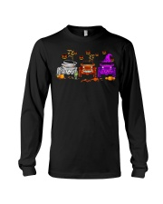 Love Jeeps Halloween Pumpkin Halloween shirt Long Sleeve Tee thumbnail