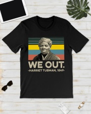 We out Harriet Tubman 1849 vintage shirt Classic T-Shirt lifestyle-mens-crewneck-front-17
