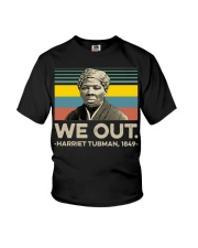 We out Harriet Tubman 1849 vintage shirt Youth T-Shirt thumbnail