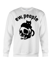 Skull and Cat ew People shirt Crewneck Sweatshirt thumbnail