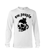 Skull and Cat ew People shirt Long Sleeve Tee thumbnail