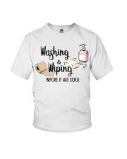 Washing and Wiping Before It Was Cool Shirt Youth T-Shirt thumbnail