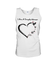 I am a simple woman Chicken shirt-shirt Unisex Tank thumbnail