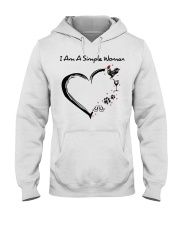 I am a simple woman Chicken shirt-shirt Hooded Sweatshirt thumbnail