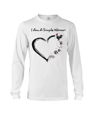 I am a simple woman Chicken shirt-shirt Long Sleeve Tee thumbnail
