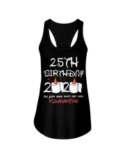 25th birthday 2020 the year when shit got real Ladies Flowy Tank thumbnail
