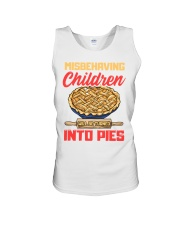 Misbehaving Children will be turned into pies Unisex Tank thumbnail