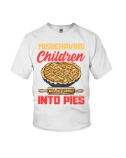 Misbehaving Children will be turned into pies Youth T-Shirt thumbnail