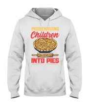 Misbehaving Children will be turned into pies Hooded Sweatshirt thumbnail