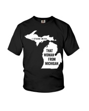 I stand with that woman from Michigan T-shirt Youth T-Shirt thumbnail