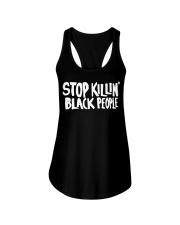 Stop Killing black people shirt Ladies Flowy Tank thumbnail